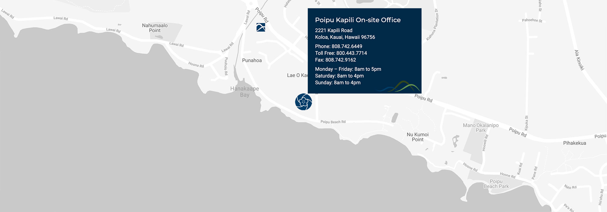 Poipu Kapili office location